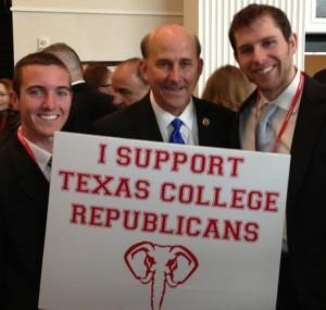 Brad Head (left) with Rep. Louie Gohmert
