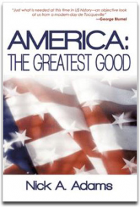 America the Greatest Good book cover